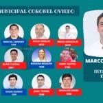Marcos Benítez intendente y lo acompañarán 8 concejales colorados y 4 del PLRA